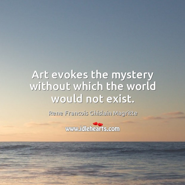 Picture Quote by Rene Francois Ghislain Magritte