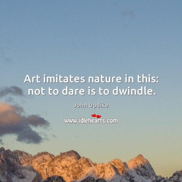 Picture Quote by John Updike