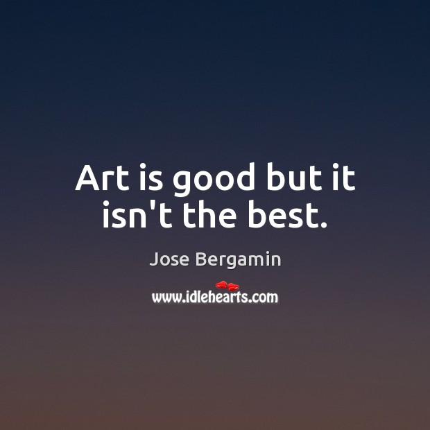 Art is good but it isn't the best. Image