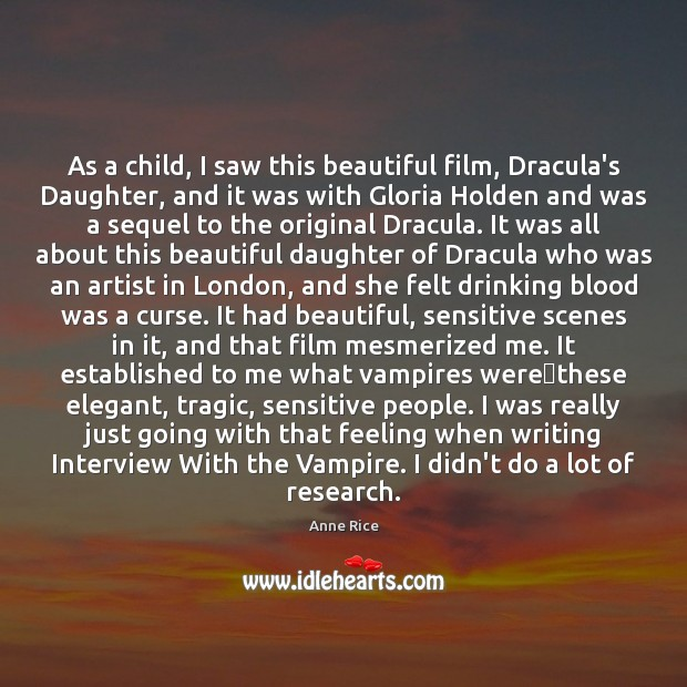 Image, As a child, I saw this beautiful film, Dracula's Daughter, and it