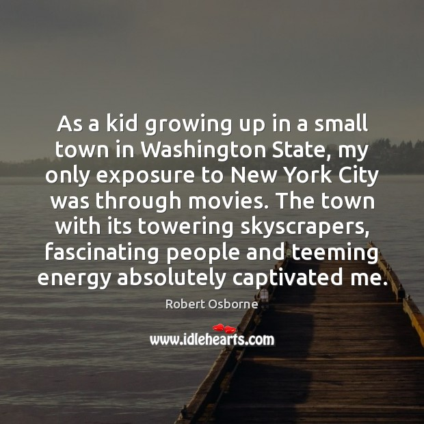 Essay growing up in a small town