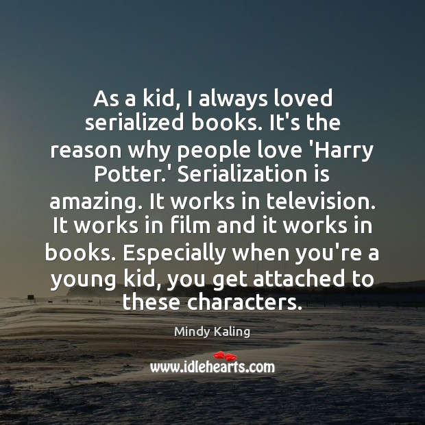 As a kid, I always loved serialized books. It's the reason why Image
