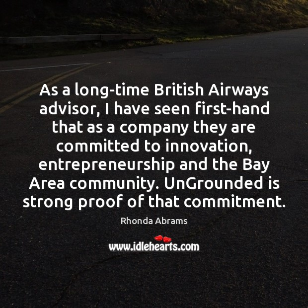 Image, As a long-time British Airways advisor, I have seen first-hand that as