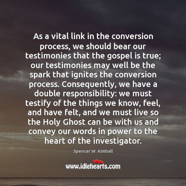 As a vital link in the conversion process, we should bear our Image