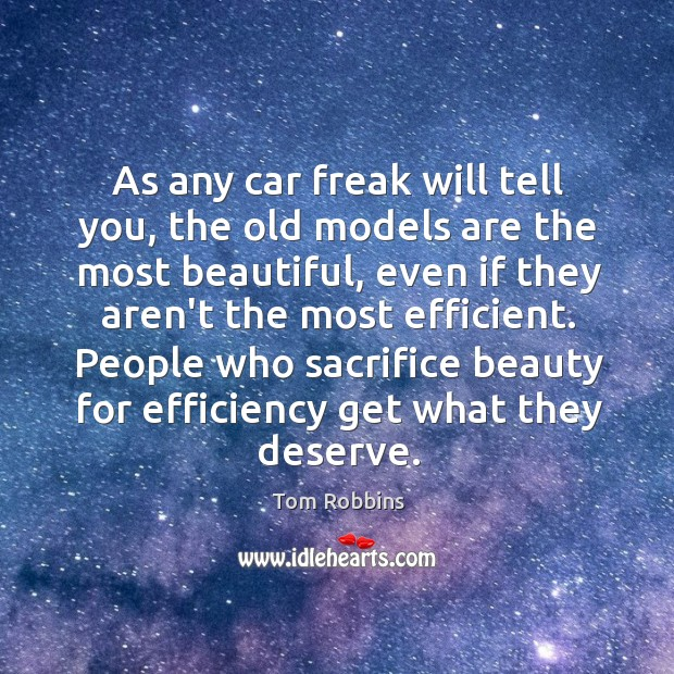 Image, As any car freak will tell you, the old models are the