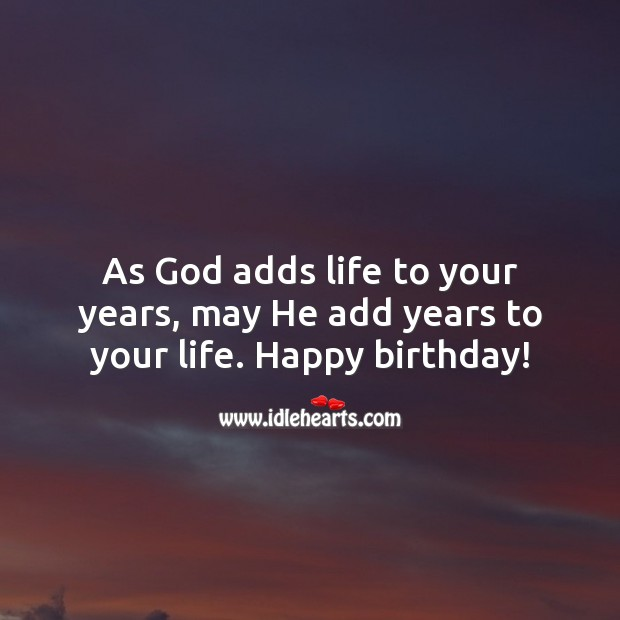 Religious Birthday Messages