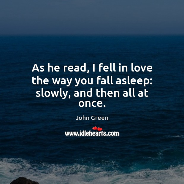 Picture Quote by John Green