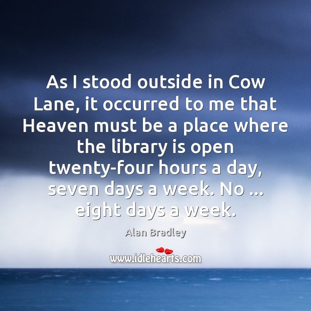 As I stood outside in Cow Lane, it occurred to me that Image