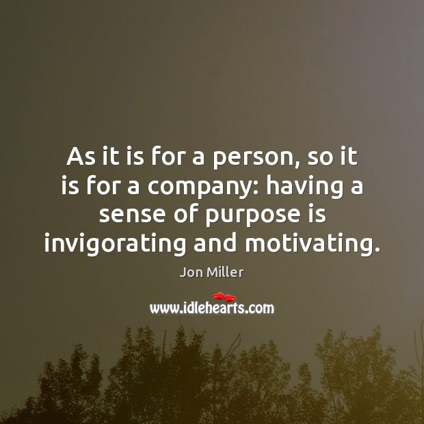 As it is for a person, so it is for a company: Image