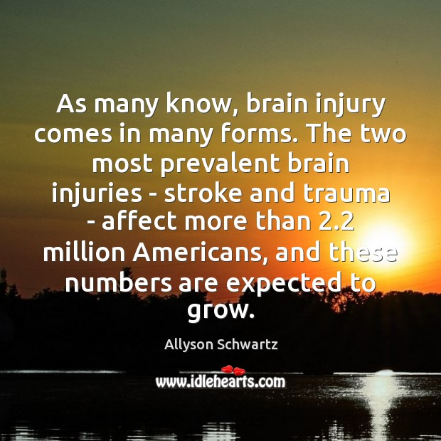 Image, As many know, brain injury comes in many forms. The two most
