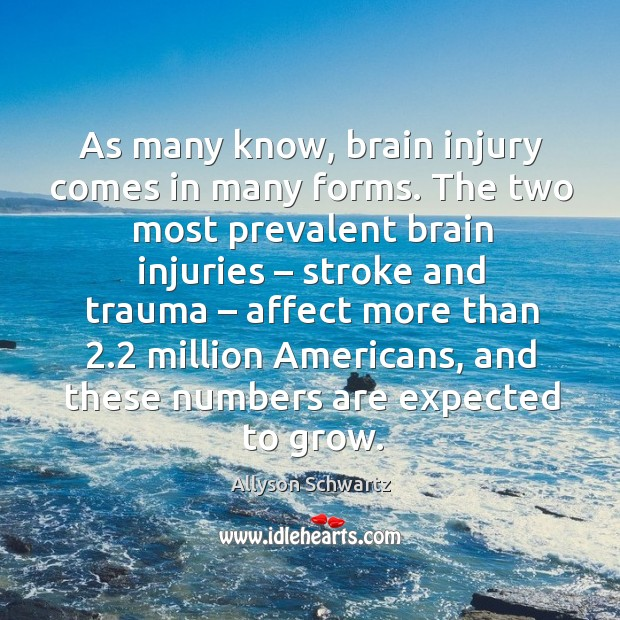 Image, As many know, brain injury comes in many forms. The two most prevalent brain injuries – stroke and trauma