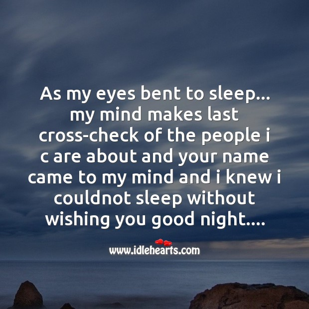 As my eyes bent to sleep.. Image
