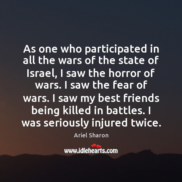 As one who participated in all the wars of the state of Image