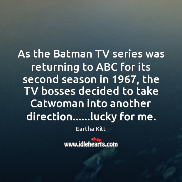 Image, As the Batman TV series was returning to ABC for its second