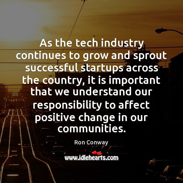 As the tech industry continues to grow and sprout successful startups across Image
