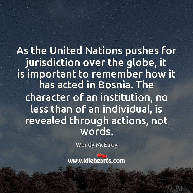 Image, As the United Nations pushes for jurisdiction over the globe, it is