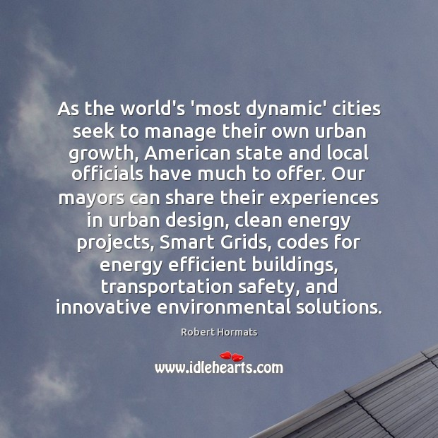As the world's 'most dynamic' cities seek to manage their own urban Image