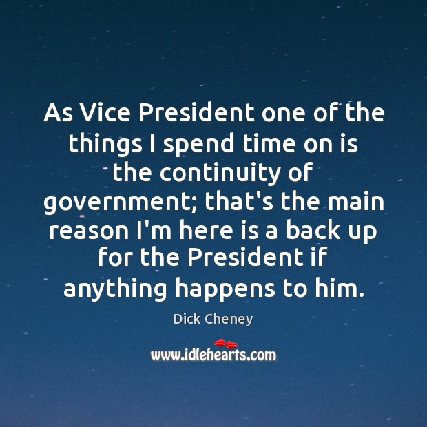 As Vice President one of the things I spend time on is Image