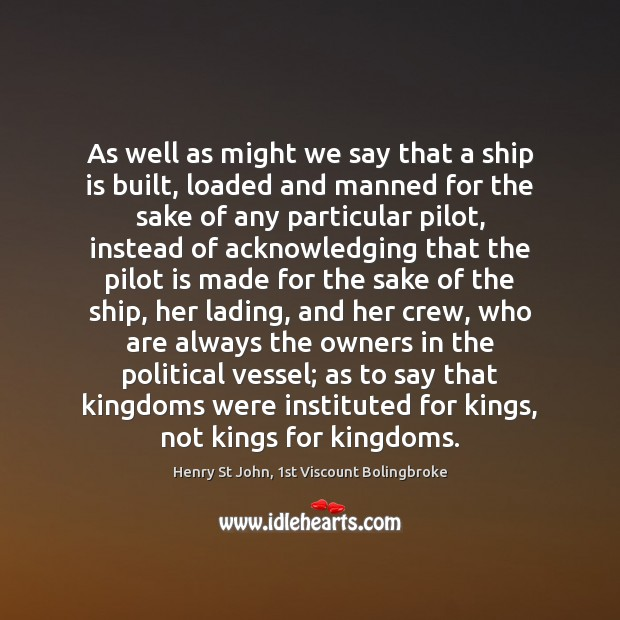 Image, As well as might we say that a ship is built, loaded