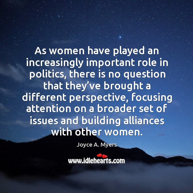 Quotes On The Role Of Women: Alliances Quotes On IdleHearts