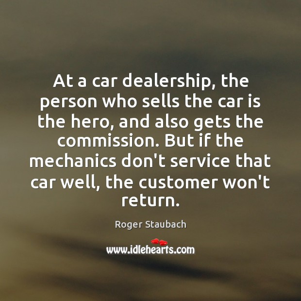 At a car dealership, the person who sells the car is the Car Quotes Image