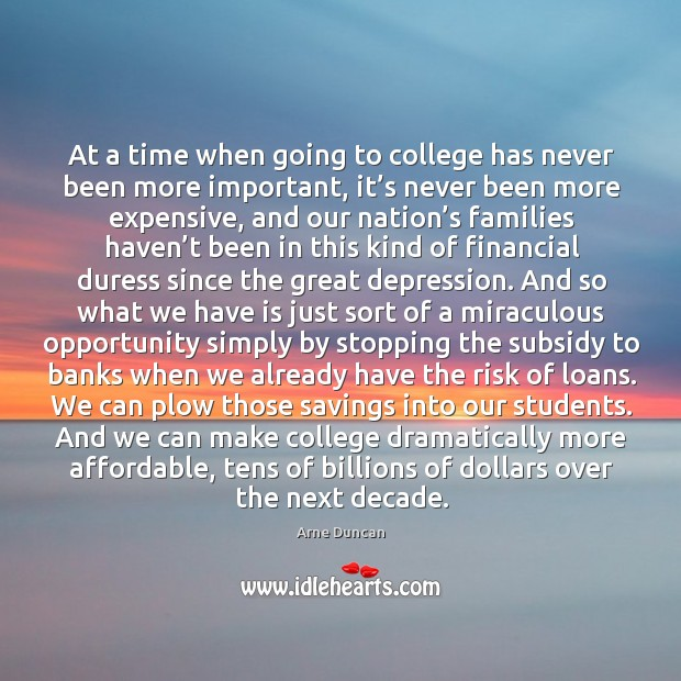 Image, At a time when going to college has never been more important, it's never been more expensive