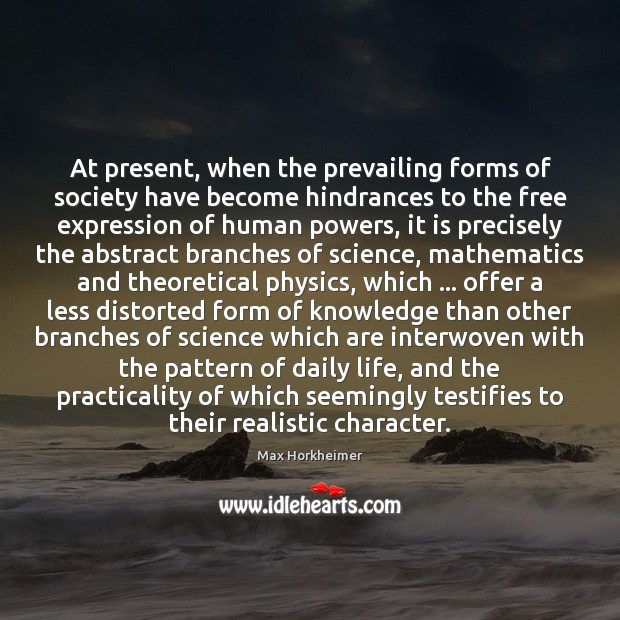 At present, when the prevailing forms of society have become hindrances to Image
