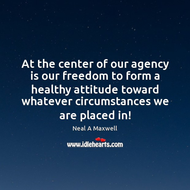 At the center of our agency is our freedom to form a Image