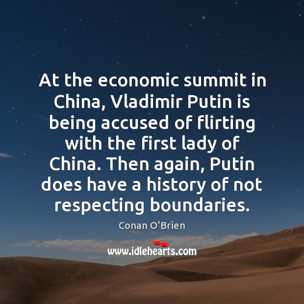 At the economic summit in China, Vladimir Putin is being accused of Image