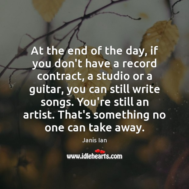 At the end of the day, if you don't have a record Image