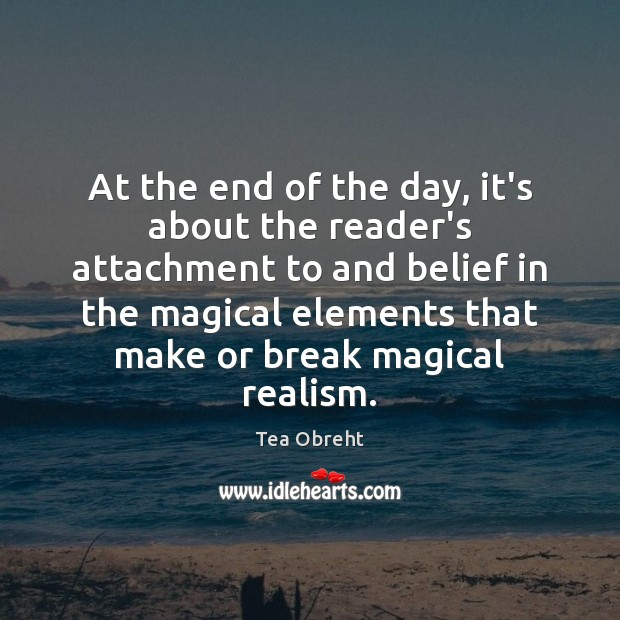 At the end of the day, it's about the reader's attachment to Image