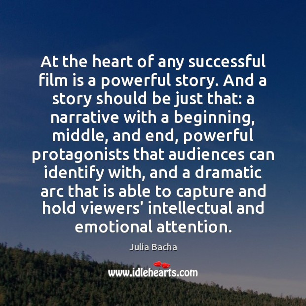 At the heart of any successful film is a powerful story. And Image