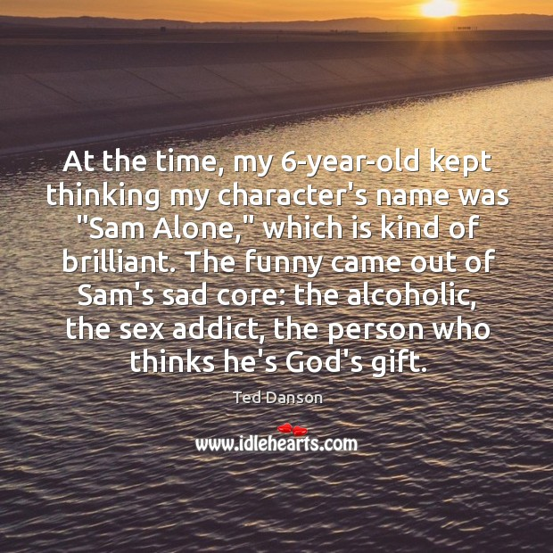 """Image, At the time, my 6-year-old kept thinking my character's name was """"Sam"""