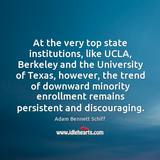 Image, At the very top state institutions, like ucla, berkeley and the university of texas