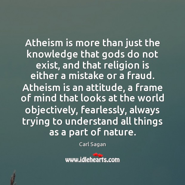Image, Atheism is more than just the knowledge that Gods do not exist,