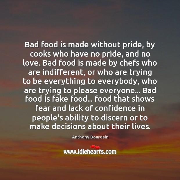 Why is pride bad