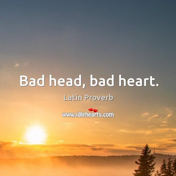 Image, Bad head, bad heart.