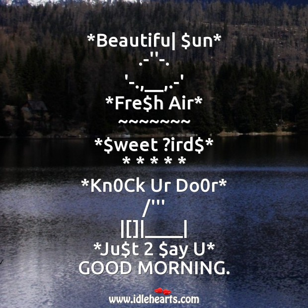 Beautiful sun Good Morning Messages Image