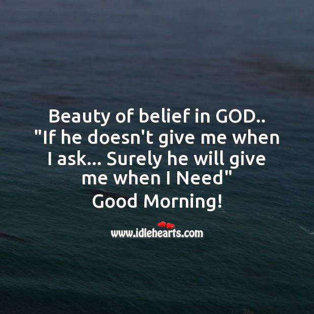 Image, Beauty of belief in God.
