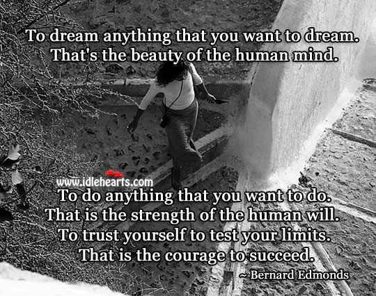 Image, Dream is the beauty of the human mind.