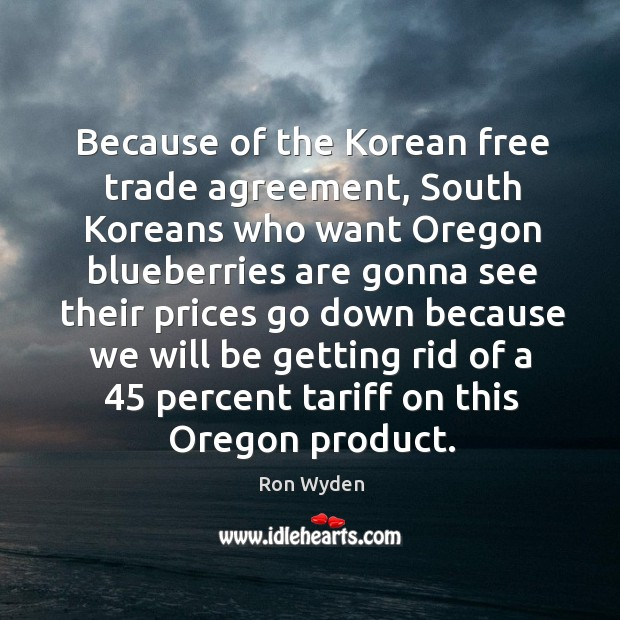 Image, Because of the Korean free trade agreement, South Koreans who want Oregon
