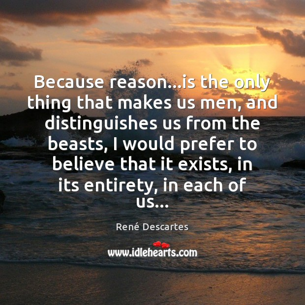 Picture Quote by René Descartes