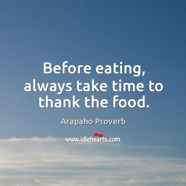 Arapaho Proverbs