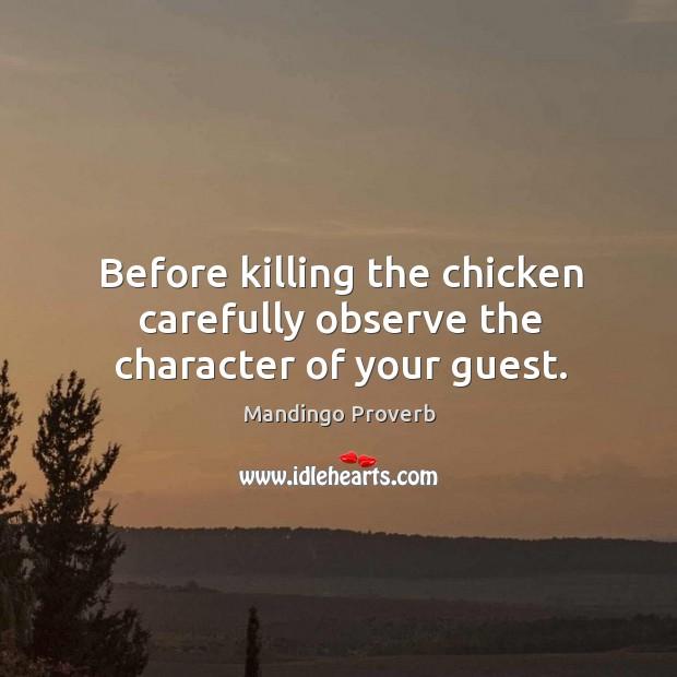 Mandingo Proverbs