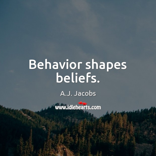 Behavior Quotes