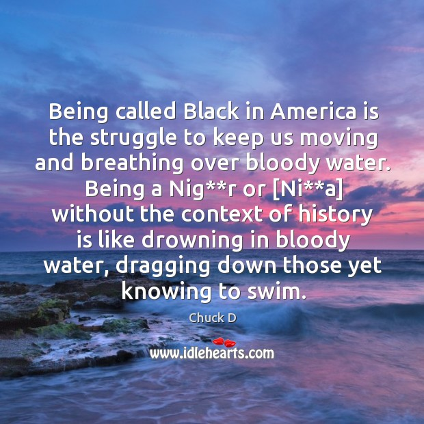 Being called Black in America is the struggle to keep us moving Image
