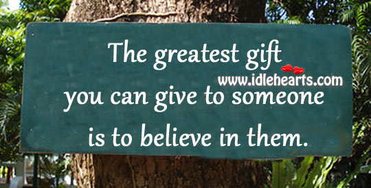 The greatest gift you can give Image
