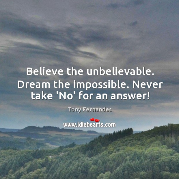 Picture Quote by Tony Fernandes