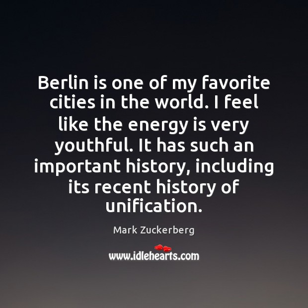 Berlin is one of my favorite cities in the world. I feel Image