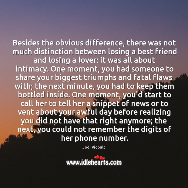 Image, Besides the obvious difference, there was not much distinction between losing a